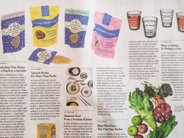 """ANETO, A """"TOP"""" BROTH FOR THE NEW YORK TIMES"""