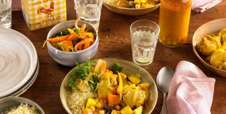 Easy chicken and vegetable couscous