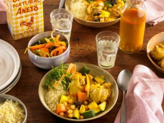 6 - Easy chicken and vegetable couscous
