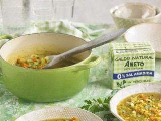5 - Quinoa and vegetable soup